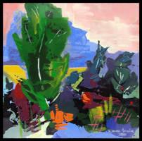 abstact landscape 4 by r-ozgur