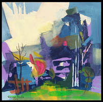abstact landscape 5 by r-ozgur