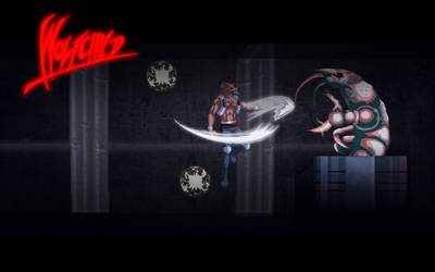 Wolfchild Saul vs Jetpack by EnmismAnima