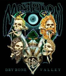 Mastodon Dry Bone Valley Trophy Rack by KylerSharp
