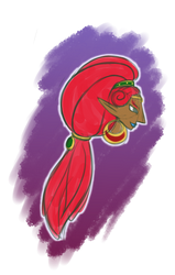 random urbosa doodle? by Rubombee