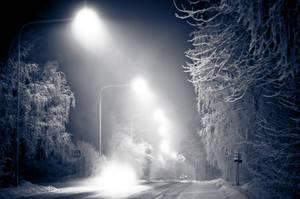 Winter Landscape by HampusAndersson