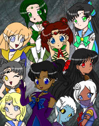 Group Colored by Roselite