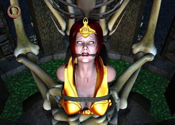 Teela vs. Evil-Lyn 30 by Uroboros-Art