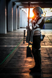Sinon from Sword Art Online 2 by FRAMEICON