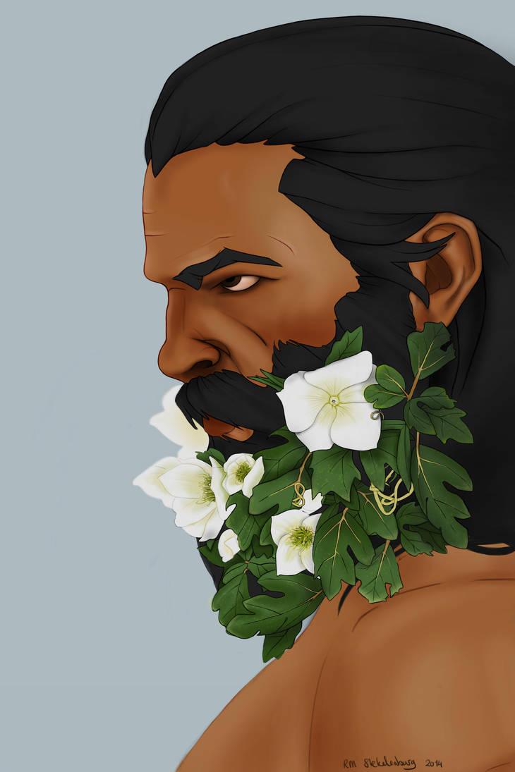 Blackwall with a flowerbeard by Ottemis