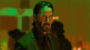 John Wick Color Study by joshnewtonart