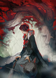 Godswood Heart by CeruleanRaven