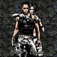 Bonita y Claudio - Near Future Bonnie and Clyde by Exyle-Studios