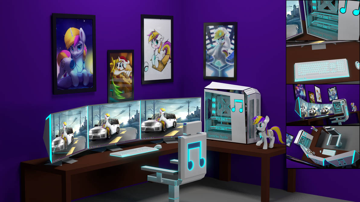 Dream Setup Workspace by MrWithered