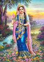 shri Godess Radha Rani by radhe9