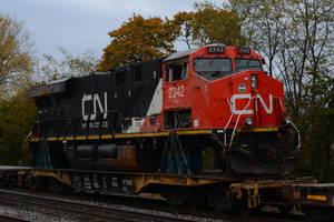 Wrecked CN ES44DC 11-6-11 by the-railblazer