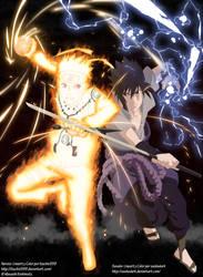 Naruto vs Sasuke Collab by Itachis999