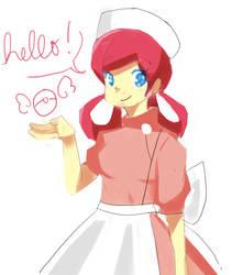 nurse nurse! by ahppple