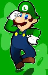 Luigi by ahppple