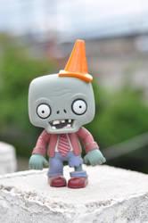 un zombie by mclaranium
