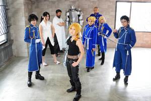 Fullmetal Alchemist Full Member by barako10