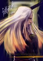 Prince Nuada Silverlance_HellBoy by FleshCreature