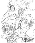 Mist - Sketch by KarasuTenguProyectos
