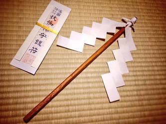Reimu's gohei prop by smen1884