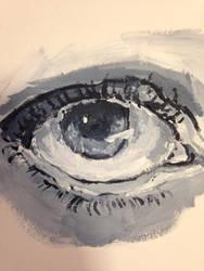 My Girlfriends eye by JakeCutler7