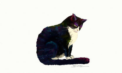 Mice the cat by pagone