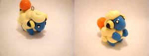 Pokemon Mareep Polymer Clay by CHR0NIE