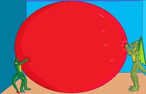 Draco rex's balloon by DracoRex1890