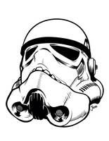 Stormtrooper by Guerrillasuit