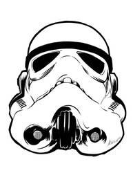 Stormtrooper Helm by Guerrillasuit