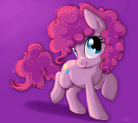 Pink Afro by CobraCookies