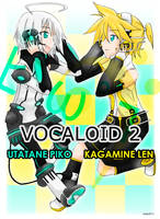 Utatane Piko + Kagamine Len by killaf2011