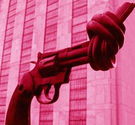 UN statue by StellaBlu82