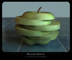 Sliced Apple by chris51888