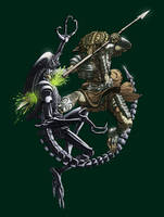 Alien vs. Predator WIP by jokoso