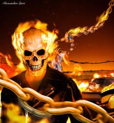 Ghost Rider by Alex521Guri