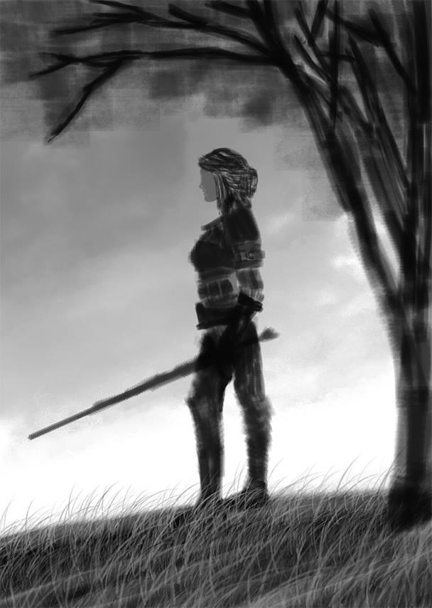 Unfinished - (Initial Sketch) by Alex521Guri