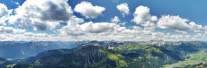 Allgaeu Alps panoramic by acoresjo88