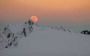 full moon rising by acoresjo88