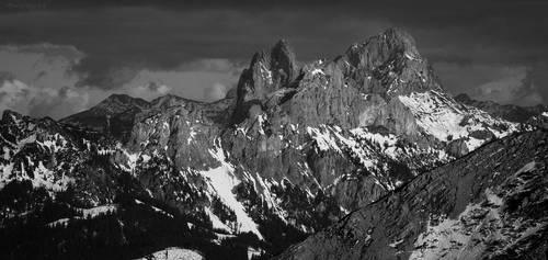 peaks of Tyrol II by acoresjo88