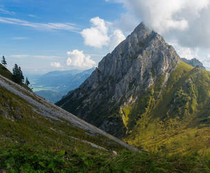 alpine beauty above the royal palaces by acoresjo88