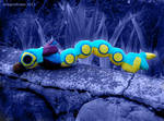 Madderpillar Plushie by dragonariaes