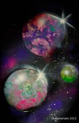 SPACE by dragonariaes