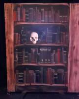 Dracula's bookcase by dragonariaes