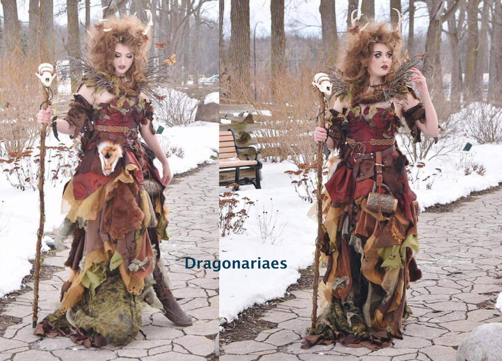 Feast Gown Mother Tree by dragonariaes
