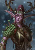 Warcraft Nelf Druid by Samo94