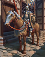 Knight of the Blazing Sun! by Samo94