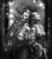 Sisters Fortelle by cornacchia-art