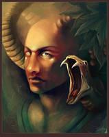 Snake Demon by carpenoctem