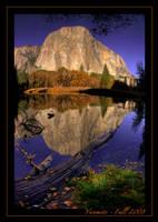 Yosemite Fall 2008 by merzlak